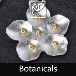 Botanicals Silver Jewellery Collection