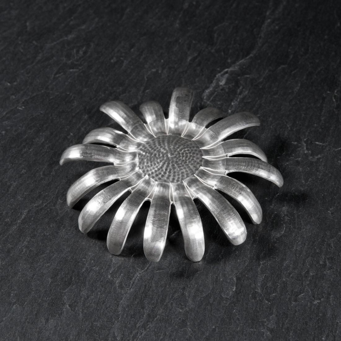 Echinacea Britannia Silver Bowl